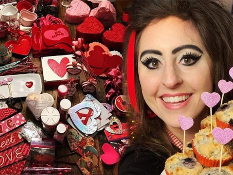 Woman obsessed with Valentine's Day spends £3,800 on decorations