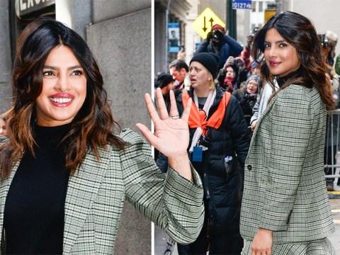 Priyanka Chopra and her newly-wed glow shine at New York Fashion Week