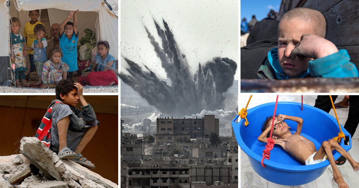 Half a million babies have been killed in war zones in five years