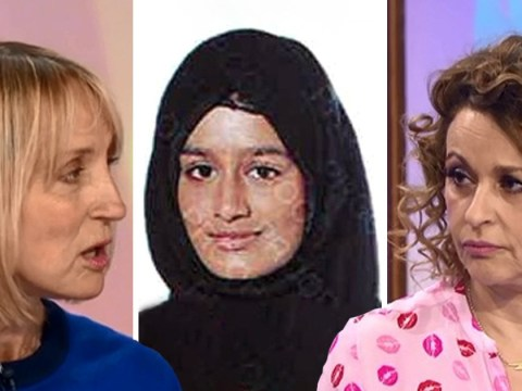 Loose Women's Nadia Sawalha clashes with Carol McGiffin over Isis schoolgirl's UK return