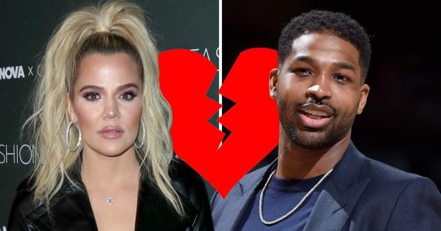 Khloe Kardashian and Tristan Thompson split