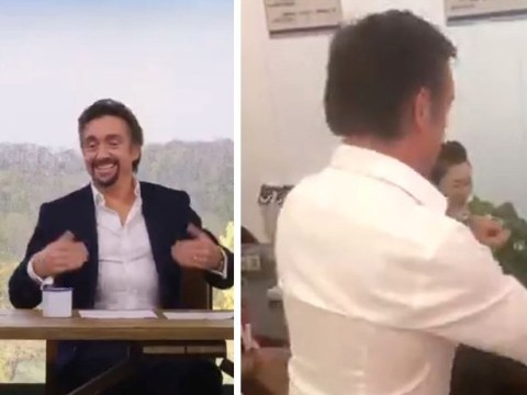 The Grand Tour's Richard Hammond completes China driving test without setting foot in a car