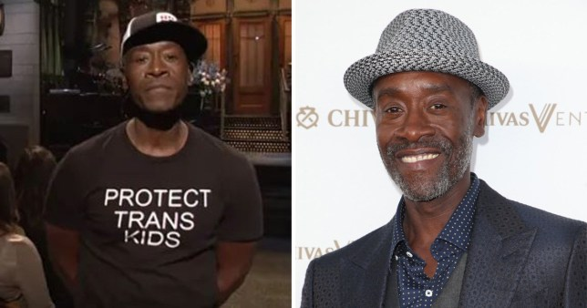 Avengers' Don Cheadle uses SNL to get political and everything is here for it