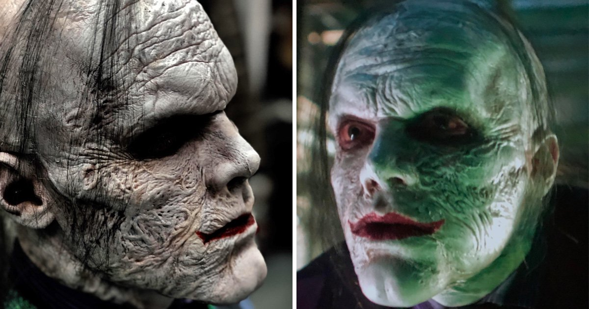 Gotham final season images of The Joker in his finished look leak online and they're horrifying