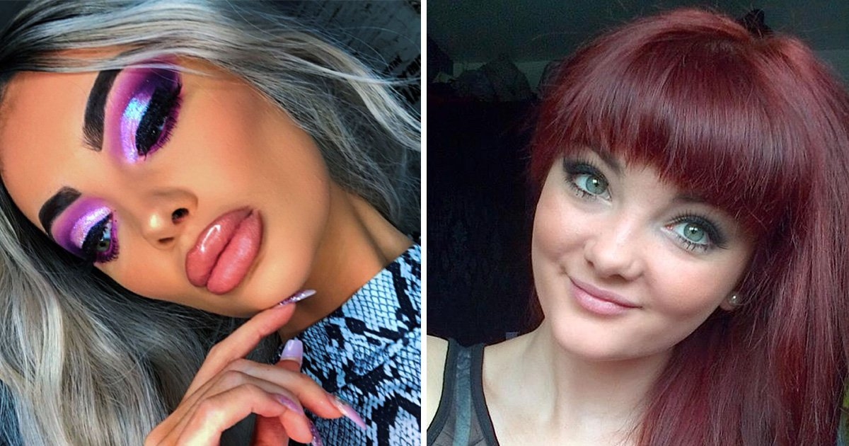 Woman called a 'train wreck' for her lips says trolls are just jealous of her pout