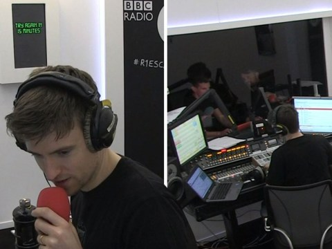 Greg James is slowly losing it as he remains trapped in Radio 1 Escape Room after more than 25 hours