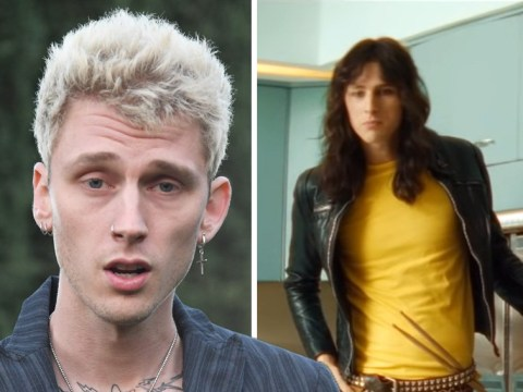 Machine Gun Kelly rocks out as Tommy Lee in first trailer for Motley Crue biopic The Dirt