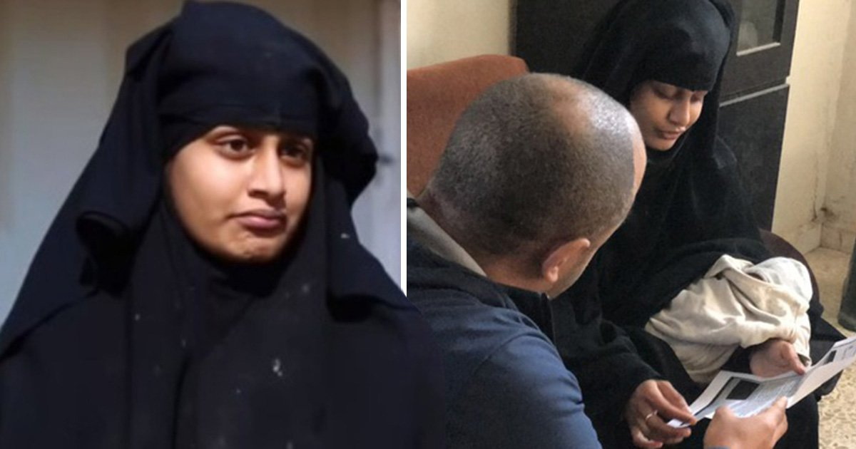 Isis bride complains of 'unjust' treatment that she's been stripped of British citizenship