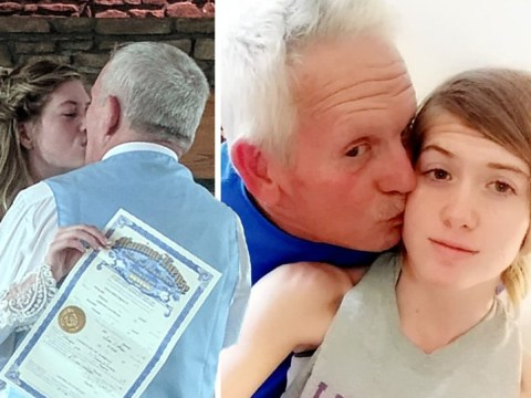 Woman, 19, wants people to stop bashing her marriage to 62-year-old man