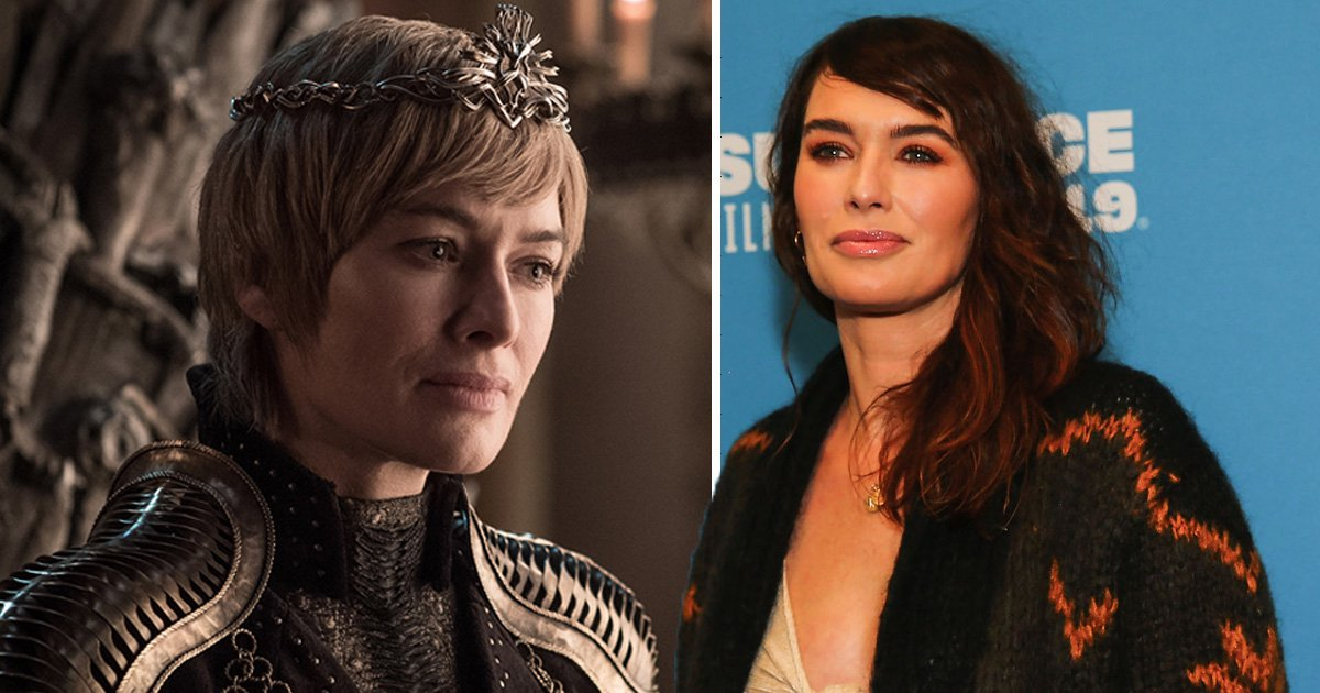 Lena Headey and Cersei Lannister in Game of Thrones