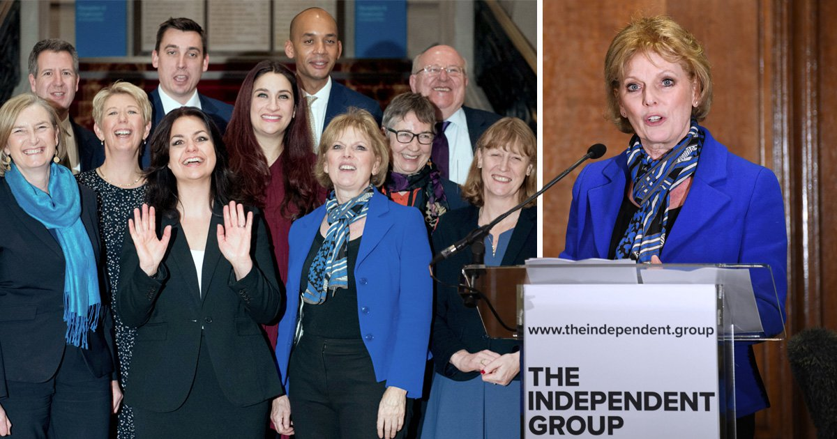 'We don't know who will be lead new Independent Group', says Anna Soubry