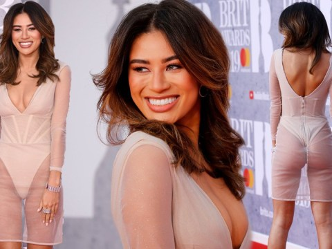 Love Island's Montana Brown styles out fashion fail like a pro at Brit Awards red carpet