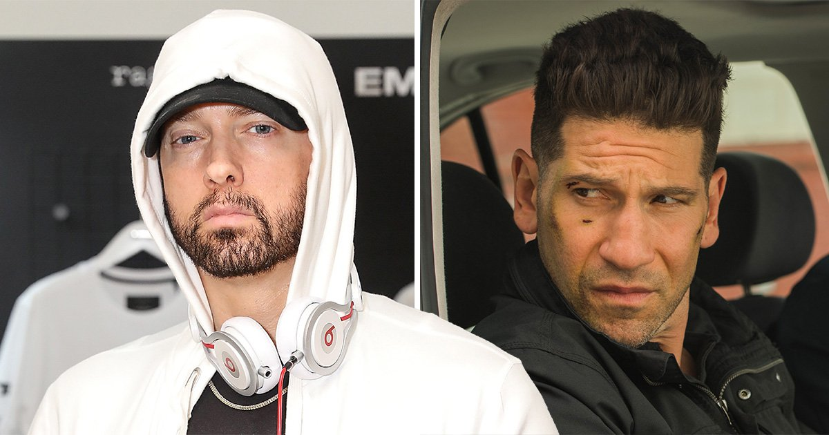 Eminem furious with Netflix for axing The Punisher in Marvel clear out