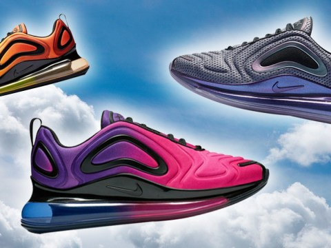 Nike is launching the Air Max 720 in dreamy new sunrise and sunset colours