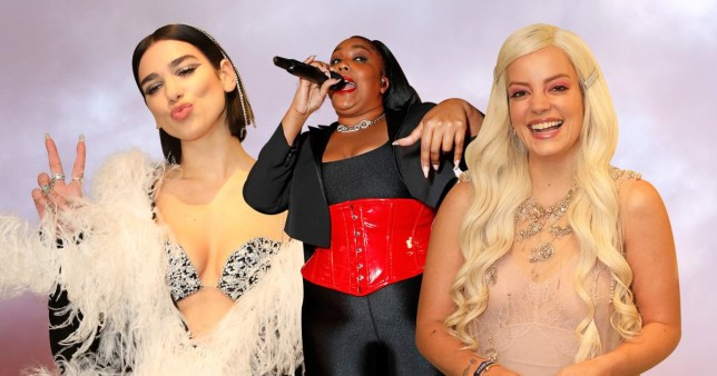 Inside the Warner Brits after party: Dua Lipa celebrates win by dancing to Lizzo