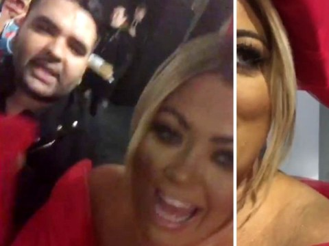 Gemma Collins and Naughty Boy become BFFs at Brit Awards: 'We're spirit animals'