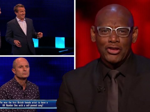 The Chase's Dark Destroyer performs Kate Bush's Wuthering Heights on-air and it's…unique
