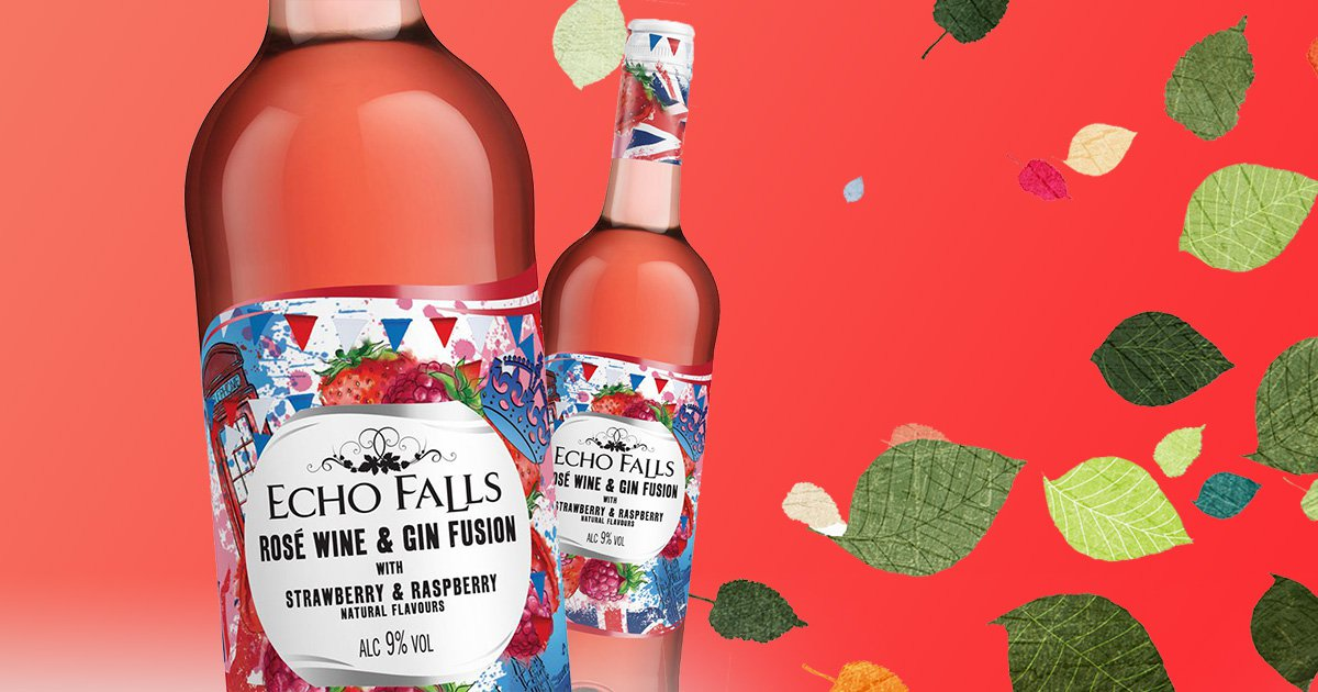 Exciting news: Echo Falls launches a rosé wine mixed with gin