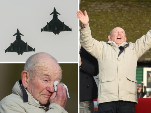 Fly-past marks 75 years since bomber plane crashed to 'save life of boy, 8'