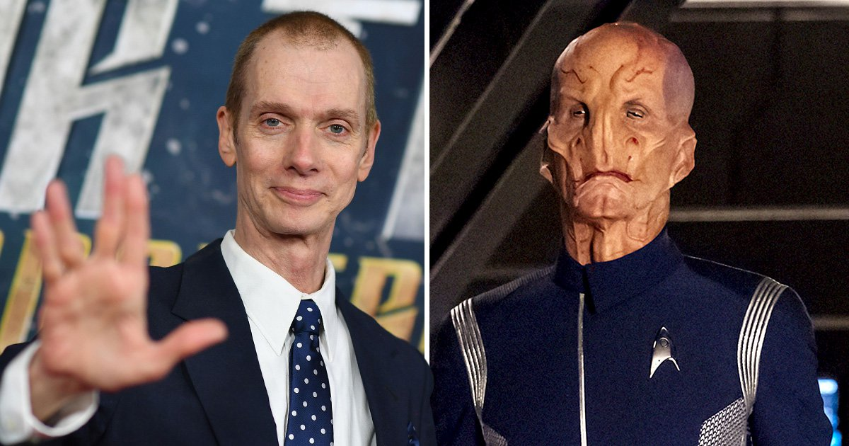 Star Trek Discovery's Doug Jones has learned to 'question authority' thanks to playing Saru