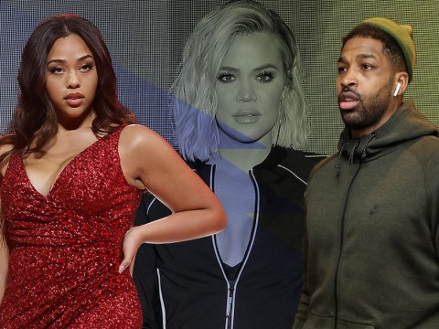 Jordyn Woods 'tried to deny kissing Tristan Thompson' when confronted by Khloe Kardashian