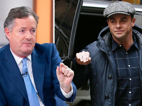 Ant McPartlin calls a truce with Piers Morgan after sending a 'strongly-worded email' about mental health
