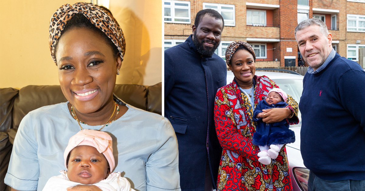 Mum gives birth to a baby girl in the back of an Uber