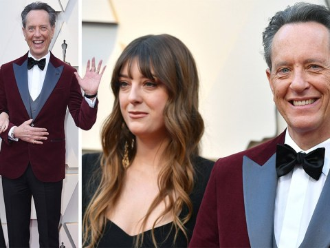 King of awards season and our hearts Richard E Grant hits Oscars red carpet with his daughter