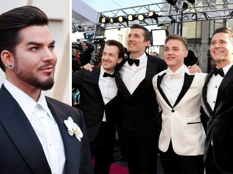 Bohemian Rhapsody cast and Adam Lambert are the cutest on Oscars red carpet