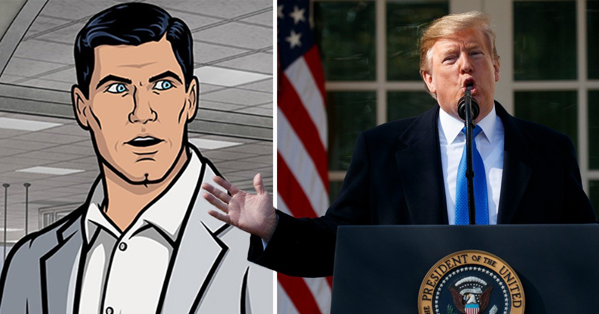 Who said it: Trump or Archer? Take our unnervingly difficult quiz and discover how equally problematic they both are