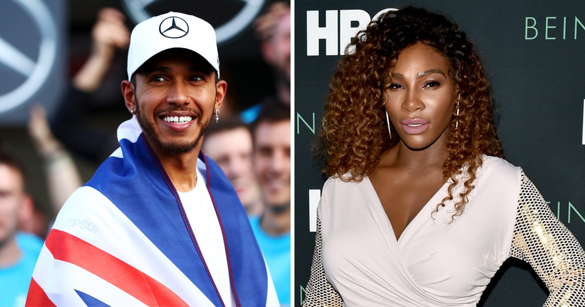 Lewis Hamilton praises 'inspiring' Serena Williams as he supports equality in sport: 'Keep fighting'