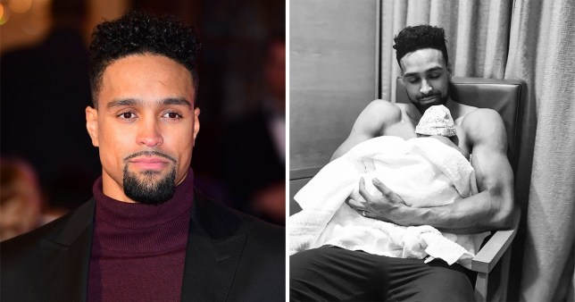 Ashley Banjo Shares Sweet New Photo Of Newborn Daughter Rose Metro News