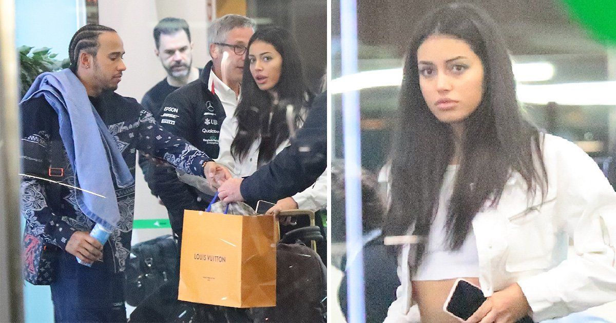 Lewis Hamilton sparks Cindy Kimberly dating rumours after arriving in Barcelona together