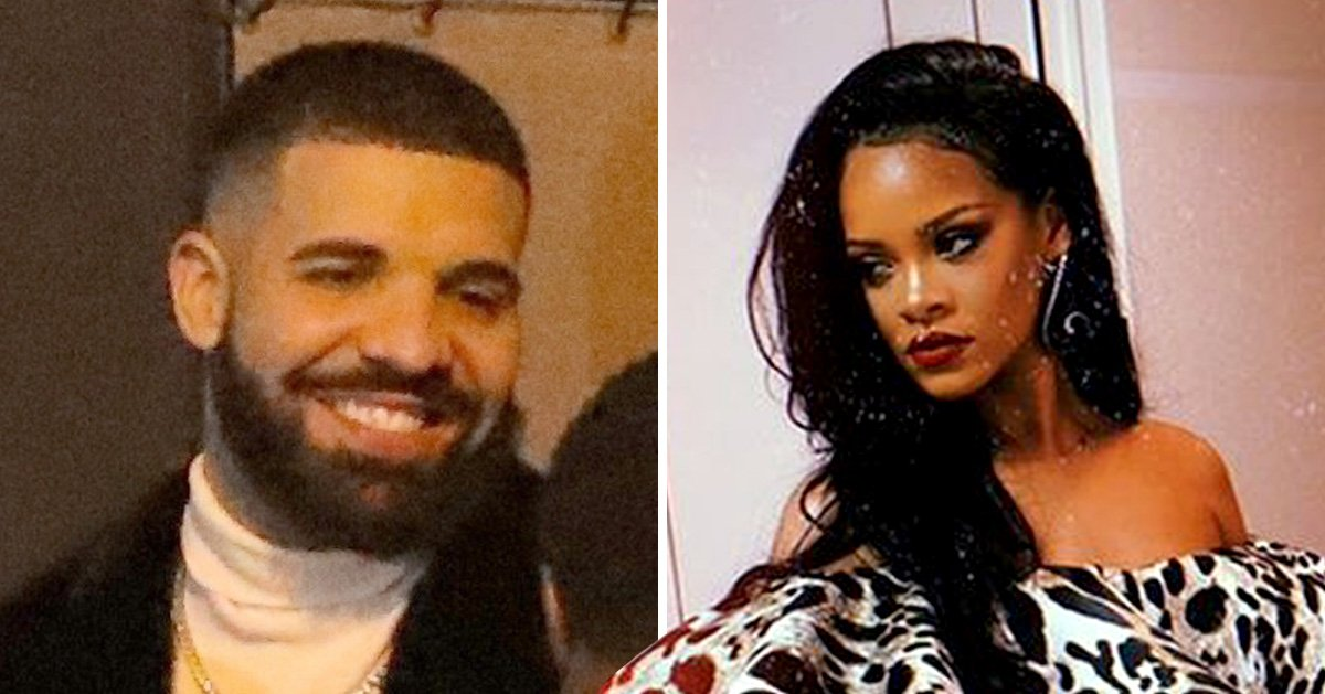 Rihanna and Drake reunite at Oscars 2019 party after she broke off romance: 'There's no tension'