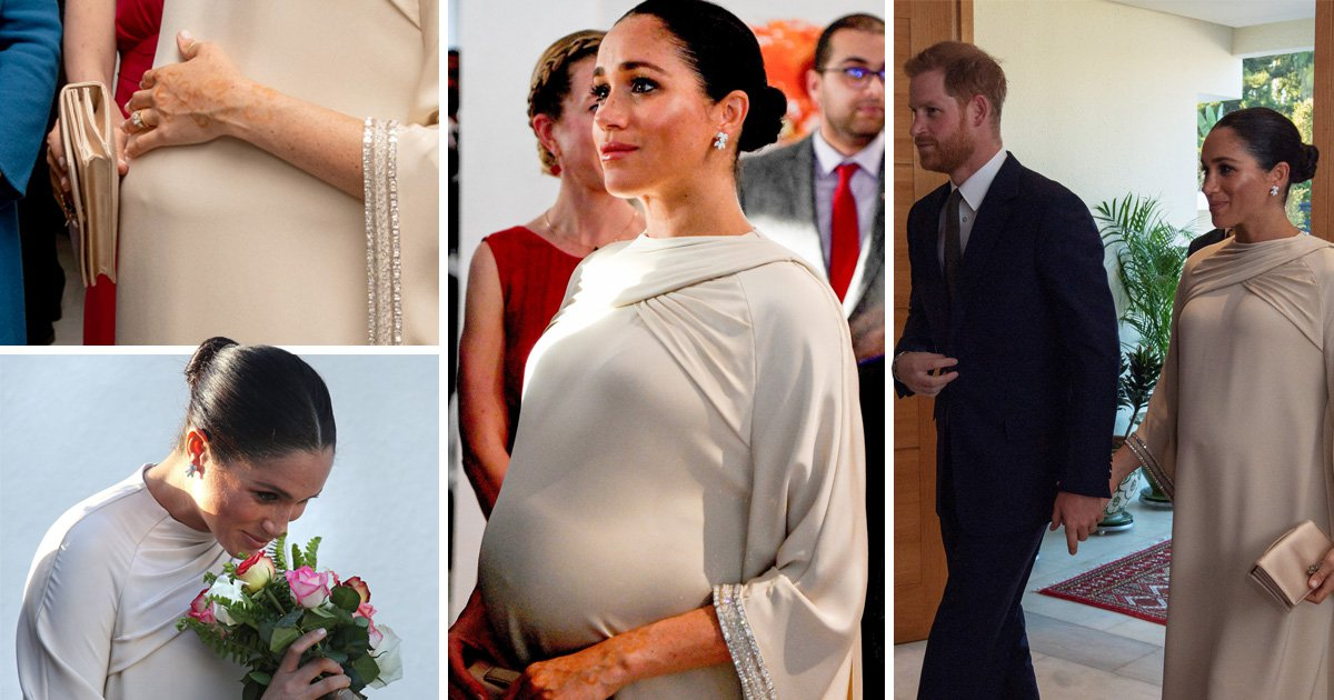 Sign that Meghan is going to give birth very soon