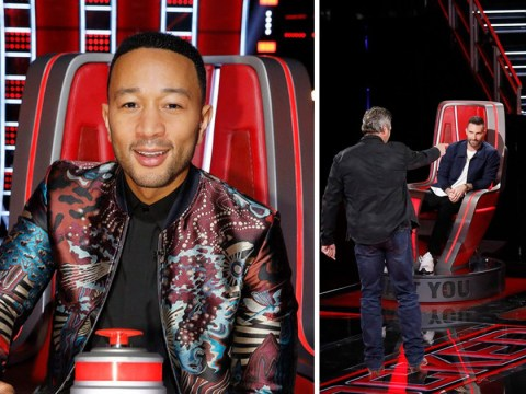 The Voice fans convinced John Legend has 'already won' as he finally makes debut