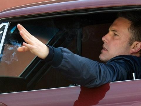 Ben Affleck puffs cigarette on solo drive amid Lindsay Shookus reunion rumours