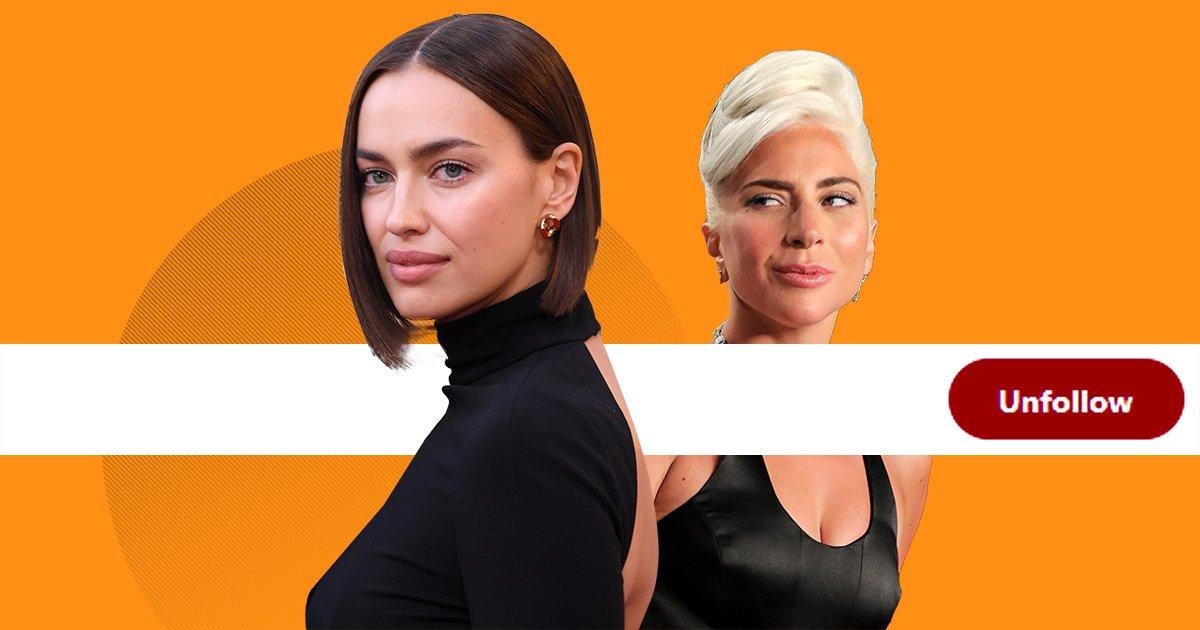 Irina Shayk unfollows Lady Gaga amid speculation of romance with Bradley Cooper