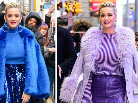 Katy Perry is trying really hard to distract us from monster engagement ring