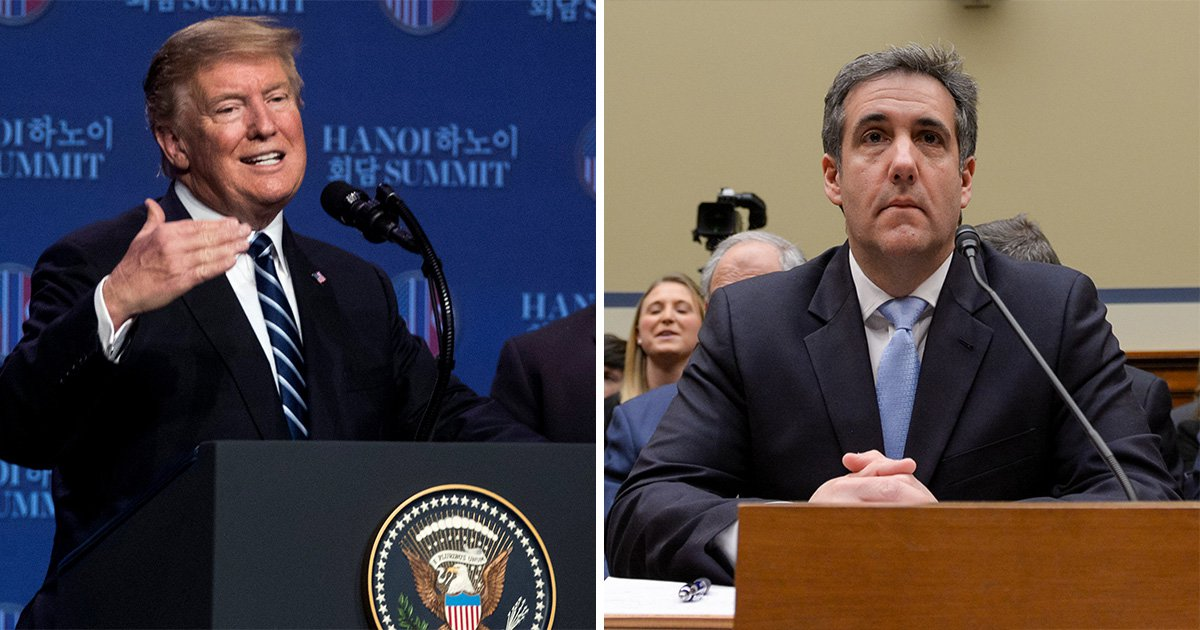 Donald Trump says Michael Cohen lied about 'everything except Russian collusion'