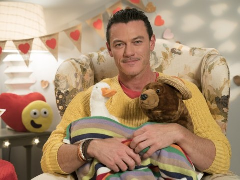 Luke Evans will save Valentine's Day by reading CBeebies Bedtime Story