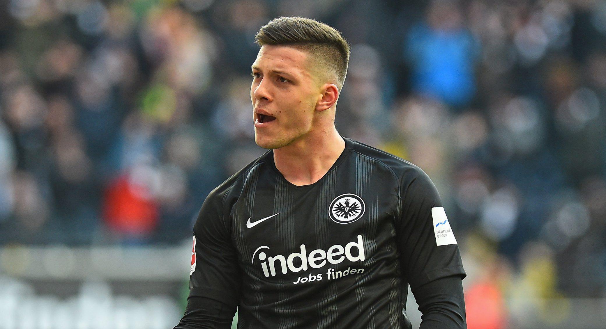 Mandatory Credit: Photo by Action Press/REX (10068883ag) Luka Jovic (Frankfurt) Eintracht v SC Freiburg, Bundesliga, Frankfurt, Germany - 19 Jan 2019