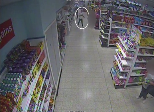 CCTV footage dated 21/7/2018 of the alleged moment Adam Cech threw acid over a three year old boy at the Home Bargains store in Worcester. Six men and one woman are on trial at Worcester Crown Court for their alleged part in an attack on the child. PRESS ASSOCIATION Photo. Issue date: Thursday January 31, 2019. See PA story COURTS Acid. Photo credit should read: West Mercia Police/PA Wire NOTE TO EDITORS: This handout photo may only be used in for editorial reporting purposes for the contemporaneous illustration of events, things or the people in the image or facts mentioned in the caption. Reuse of the picture may require further permission from the copyright holder.