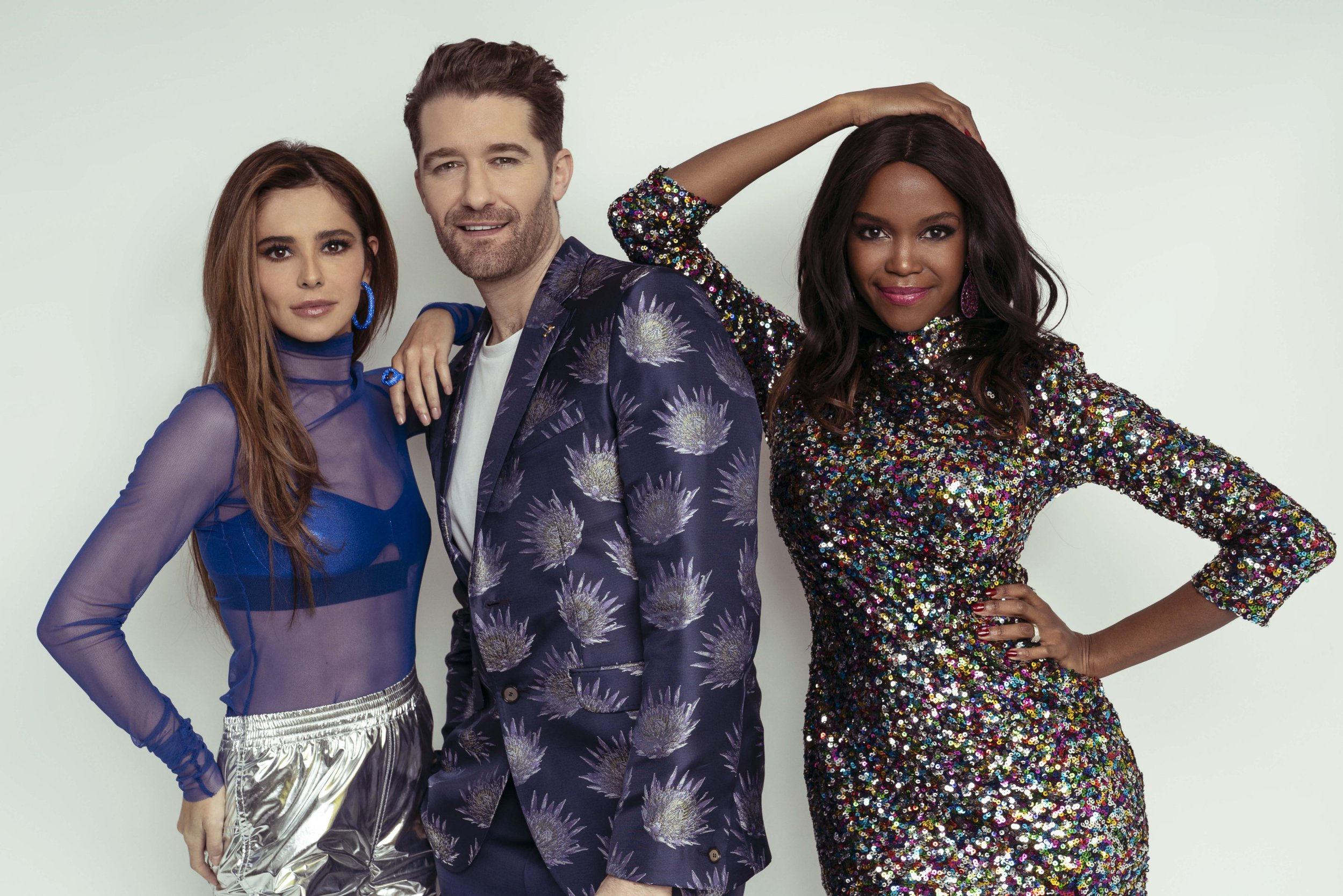 Cheryl, Matthew Morrison and Oti Mabuse in The Greatest Dancer