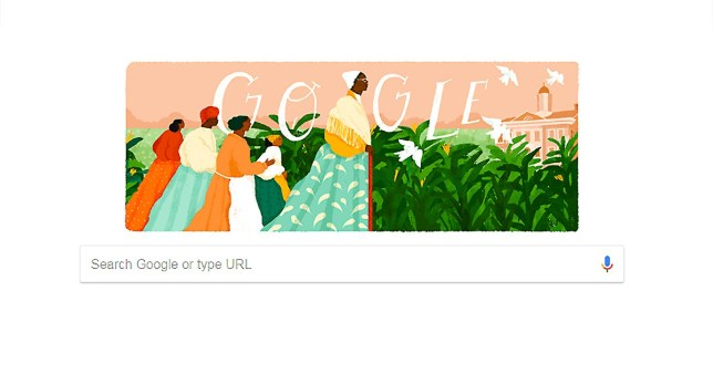 Sojourner Truth as the google doodle