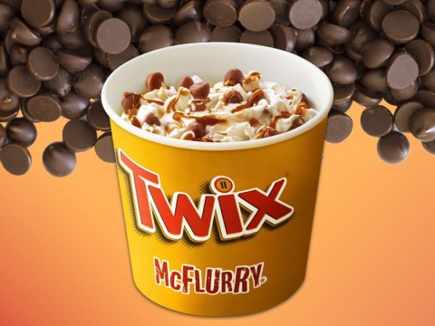 The Twix McFlurry is finally back on McDonald's menus