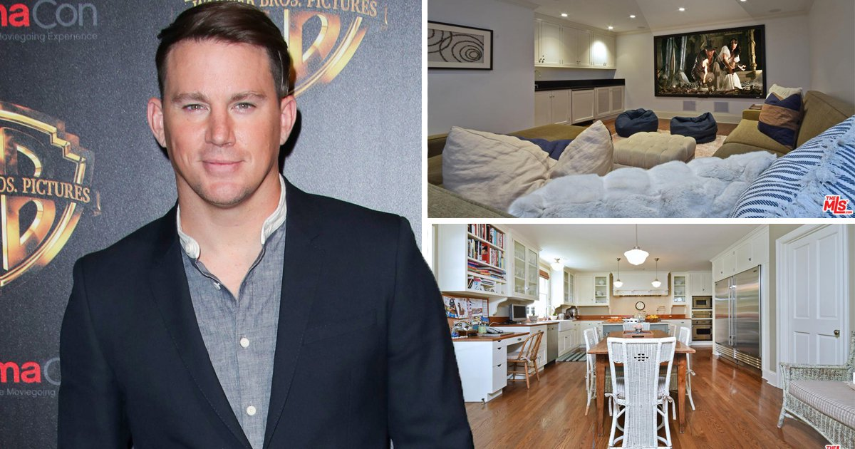 Channing Tatum moving house after split with Jenna REX/REDFIN