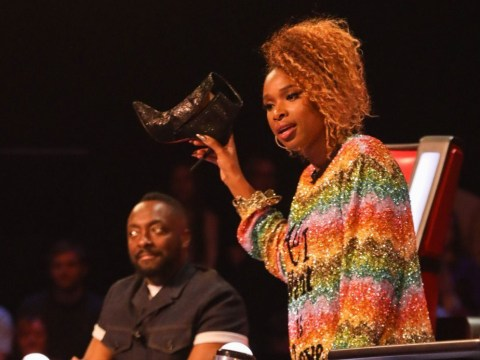 The Voice's Will.i.am trolls Jennifer Hudson after she throws shoe at contestant