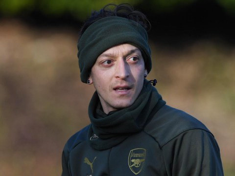 Mesut Ozil sends message to Arsenal fans after Unai Emery axed him from Europa League squad