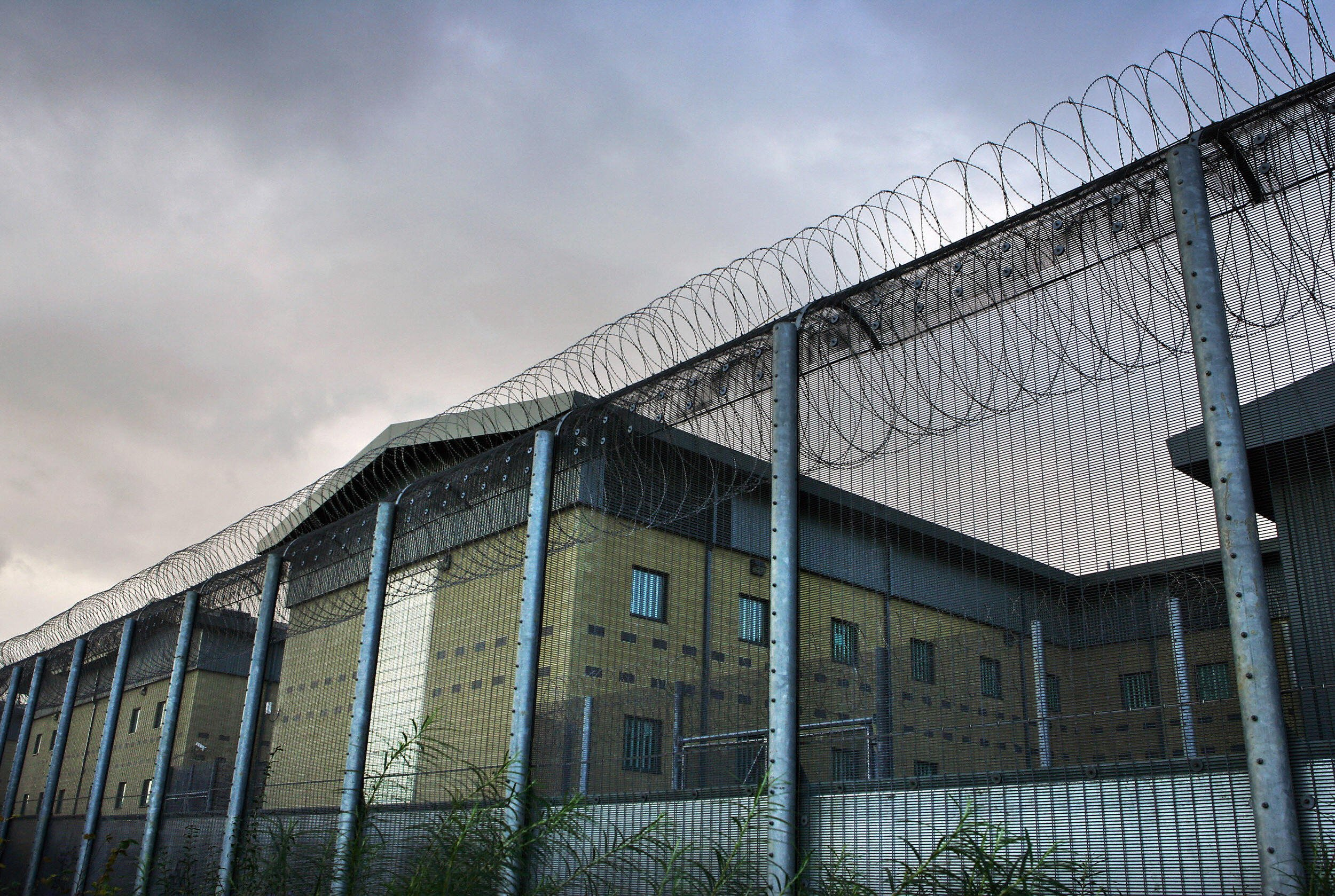 The Harmondsworth Detention Centre in London